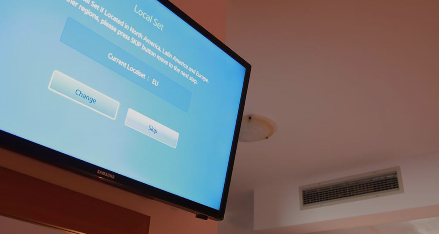 Tv led in ogni camera